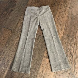 MAX STUDIO Herringbone Tweed Pants
